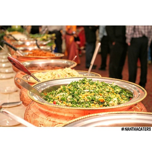 Buffet Table by Nantha Caters Inc - Best South Indian Food Oshawa