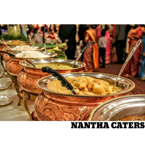 Delicious Buffet Table by Nantha Caters Inc - Best South Indian Food Toronto