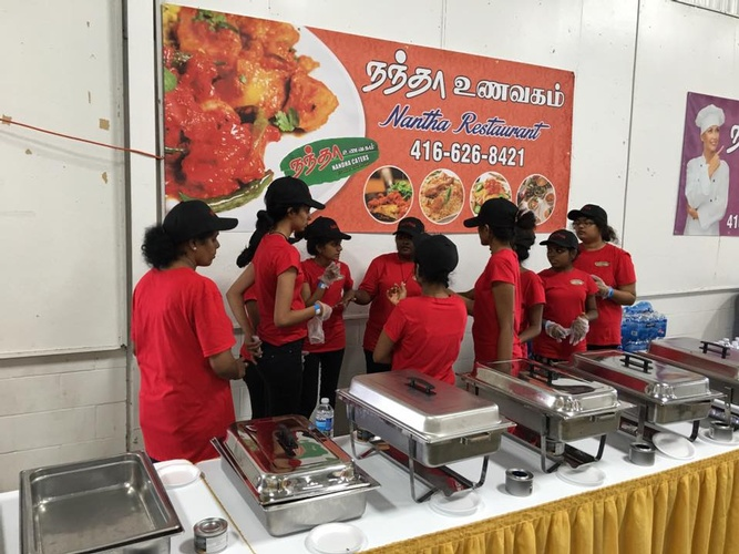 Nantha Caters Buffet Staff - South Indian Catering Mississauga by Nantha Caters Inc