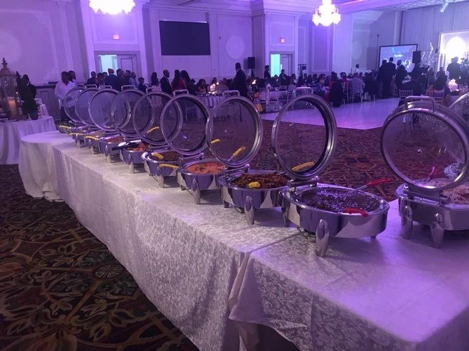 Buffet Table by Nantha Caters Inc - South Indian Restaurant Scarborough