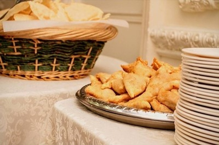 Papadum and Samosa by Nantha Caters Inc - Best Indian Food Pickering